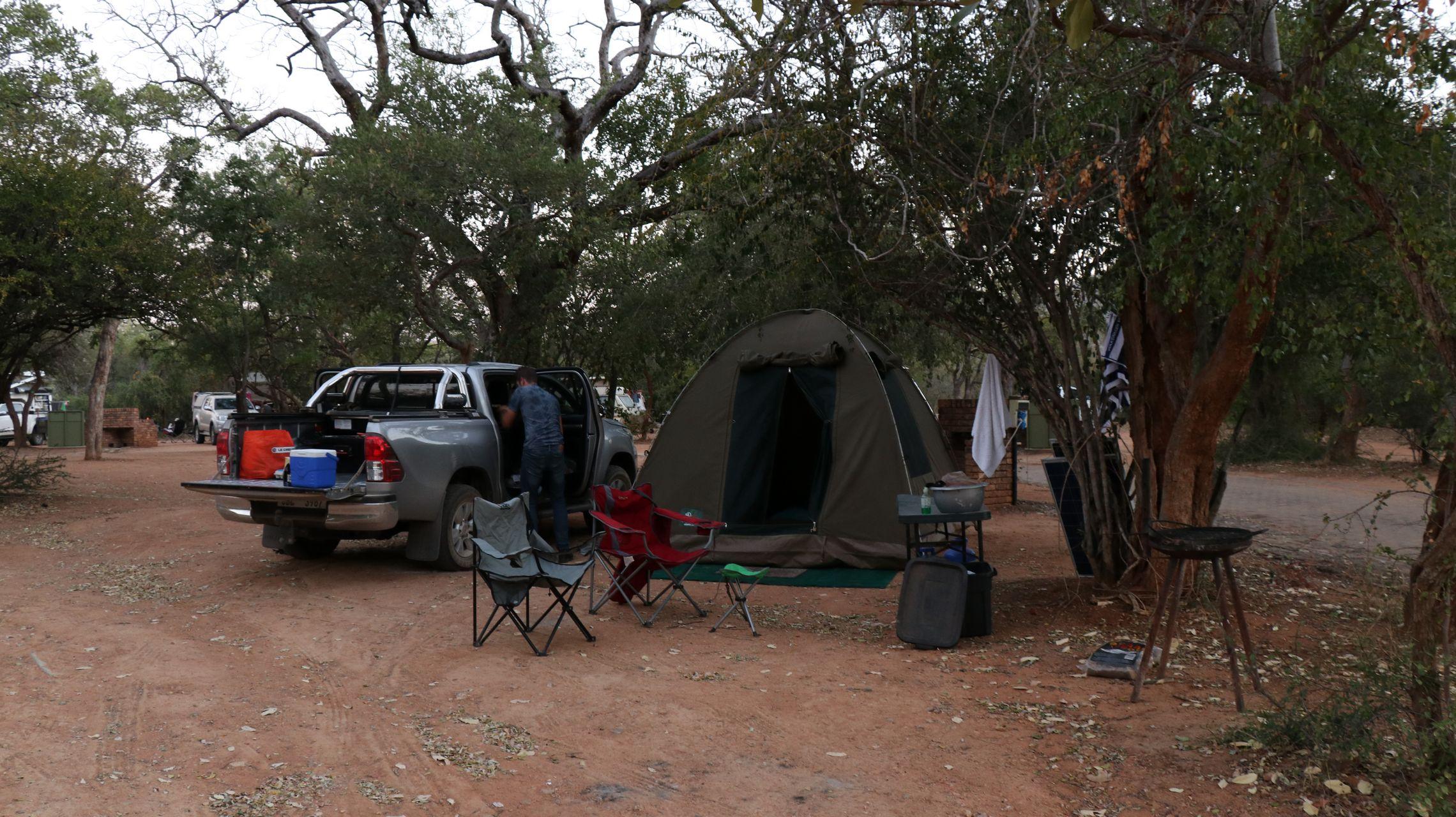 rest camp berg en dal