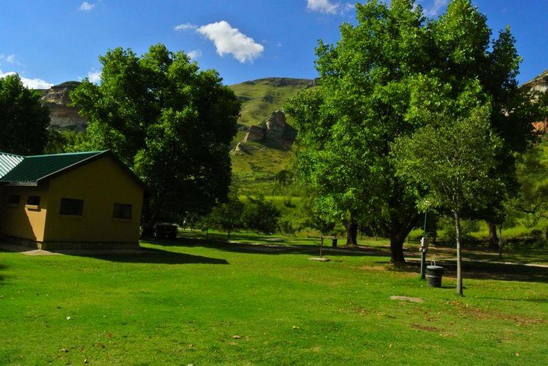 glen reenen rest camp, golden gate | love camping